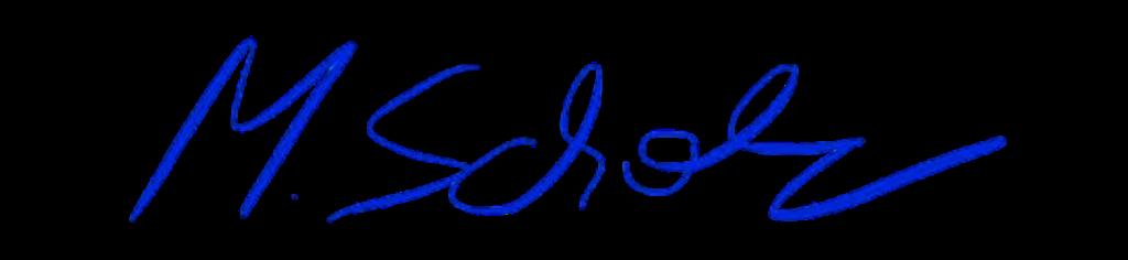 Unterschrift Steuerberater Martin Scholz